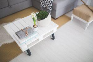 A clutter-free table.